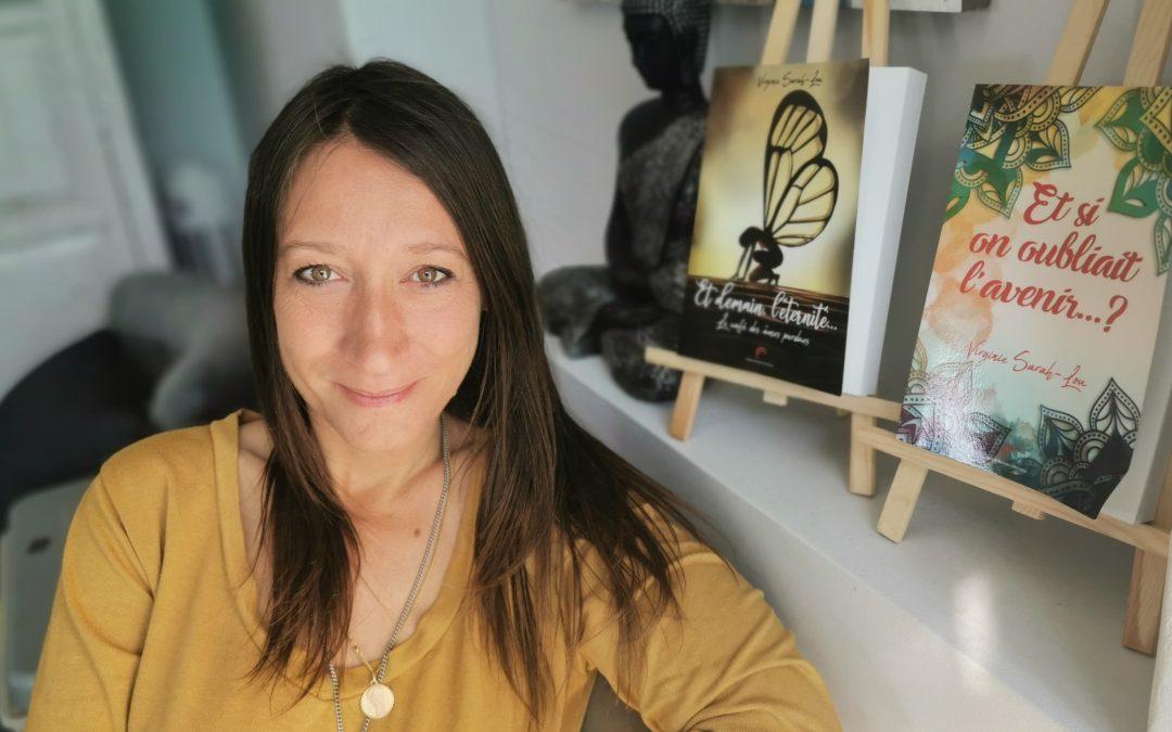 """""""Ecrire est un besoin"""", par Virginie Sarah-Lou"""