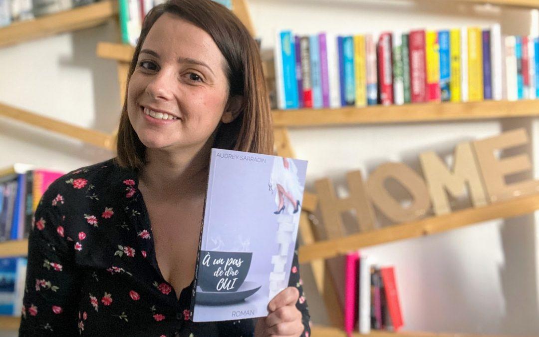 """""""Mon défi, écrire et publier"""", par Audrey Sarradin"""
