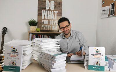 """""""Un livre pour motiver les autres à entreprendre"""", par Nassim Amisse"""